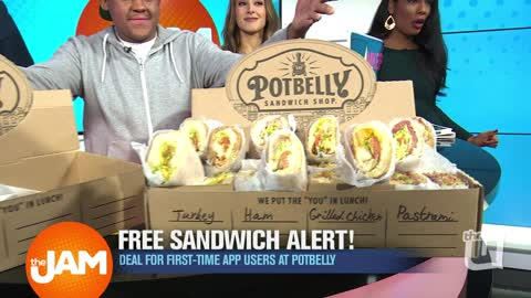 Find Out How to Score Free Potbelly Sandwiches!