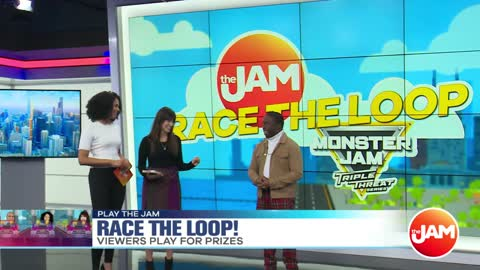 Play the Jam: Race The Loop: Monster Jam Edition with William Jefferson Jr.