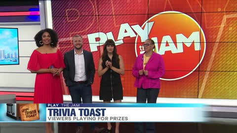 "Play the Jam: ""Trivia Toast"" with Susan"