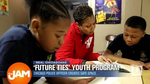 Chicago Police Officer Organizes Safe Space