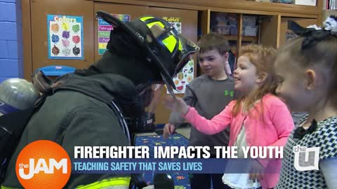 Real Chicagoans | Firefighter Chosen to Teach Children Fire Safety