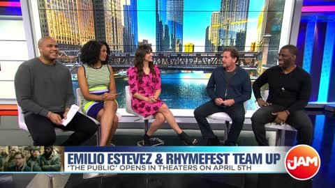 Emilio Estevez & Rhymefest Talk New Film