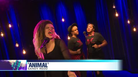 Sandy Redd Performs 'Animal'