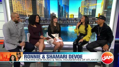 "Shamari and Ronnie DeVoe Talk New Music & ""Real Housewives of Atlanta"""