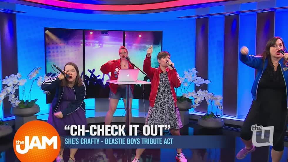 Wciu The U She S Crafty Beastie Boys Tribute Band