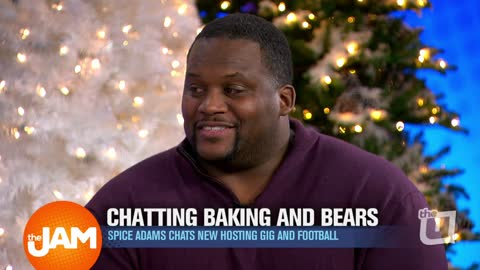 Chatting New Baking Show and Chicago Bears with Anthony 'Spice' Adams
