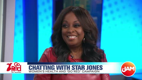 Chatting with Star Jones