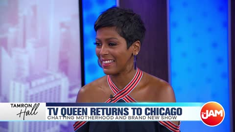 Tamron Hall Talks Chicago & Her New Show