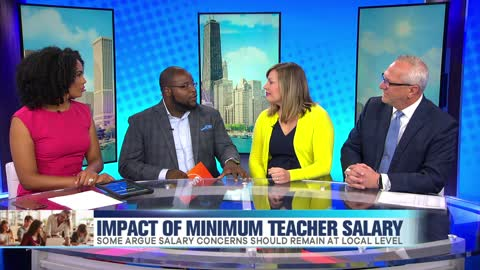 Impact of Illinois' Teacher Minimum Salary Law
