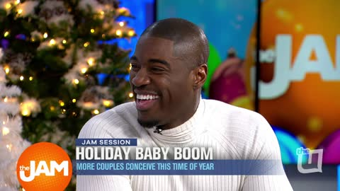 Terrell Carter joins Jam Session about Holiday Baby Boom and Giving Back