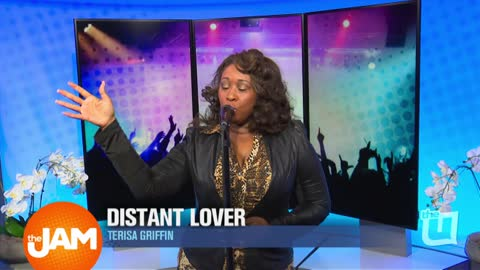 Former Voice Contestant Terisa Griffin Performs New Single Distant Lover