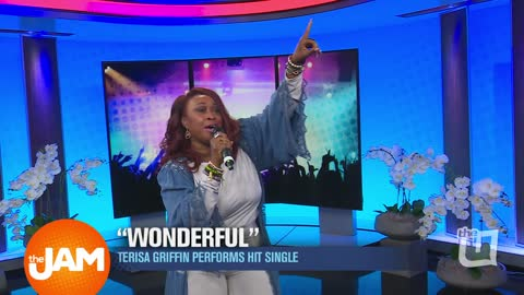 Terisa Griffin Chats Charity and Performs Wonderful