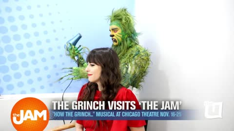 The Grinch Visits 'The Jam'