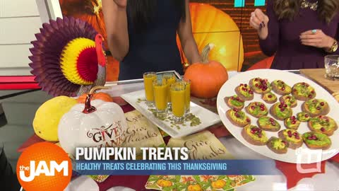 Healthy Pumpkin Treats for Thanksgiving