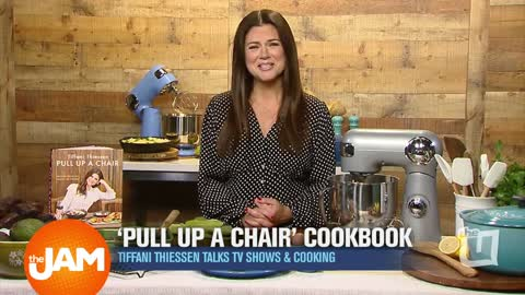 Tiffani Thiessen Talks New Cookbook