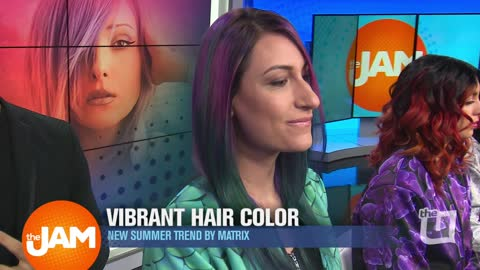 Colorful Hair Trends for the Spring