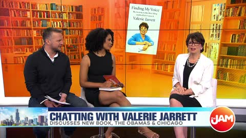 Valerie Jarrett Talks New Book