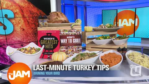 Last-Minute Turkey Tips with Weber Grill Restaurant