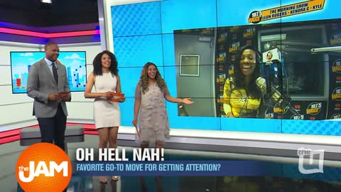 WGCI Morning Show Plays 'Oh Hell Nah!'