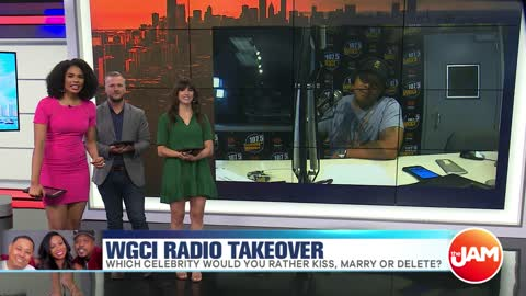 WGCI Radio Takeover | Kiss, Marry or Delete?
