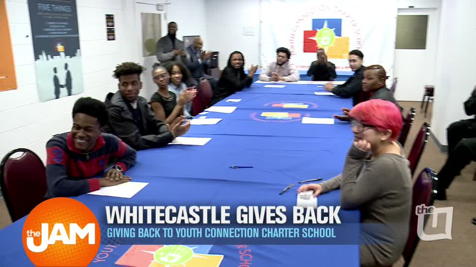 WCIU, The U | White Castle Gives Back to Youth Connection Charter School