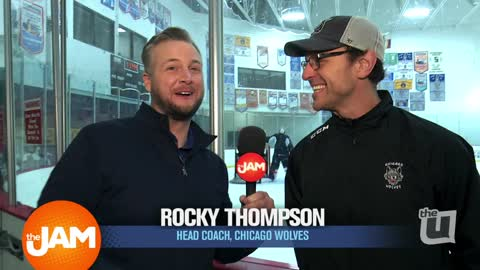 Chicago Wolves Prepare for the Big Game
