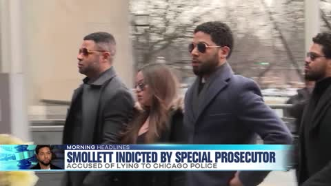 Smollett Indicted by Special Prosecutor
