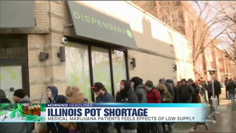 Illinois Dealing with Pot Shortage