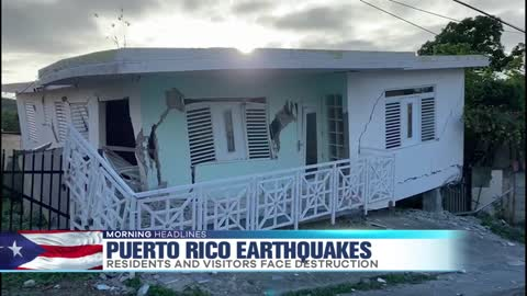 Chicagoans in Puerto Rico Discuss Earthquake