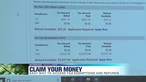 How to Claim Your Property Tax Refunds
