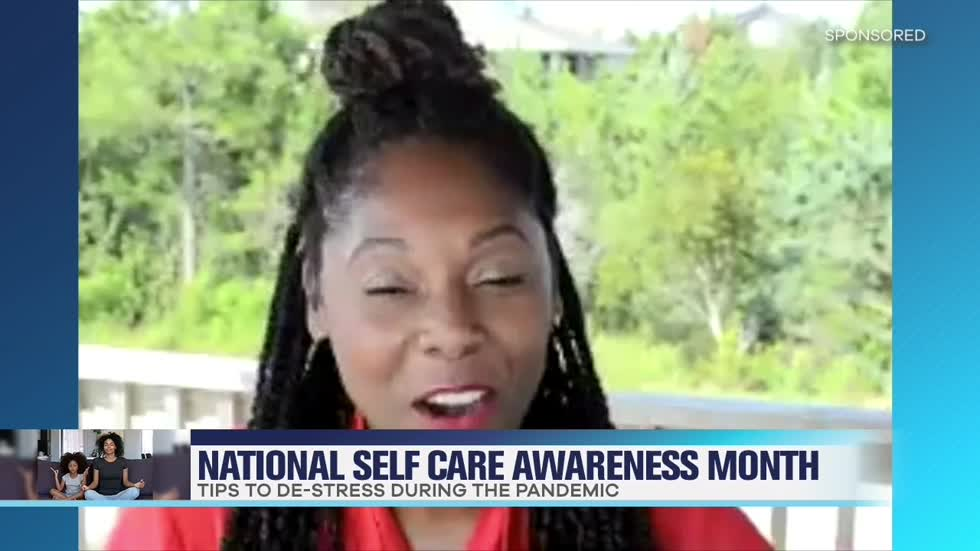 Celebrating National Self Care Month With Dayvee Sutton