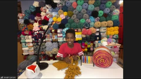 Jonah Larson Talks Crocheting Talents And Being A Part Of The Drew Barrymore Show