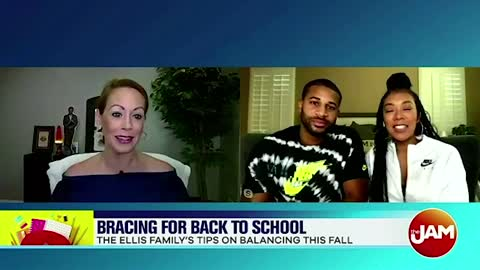 The Ellis Family Talks Getting Ready For Back To School
