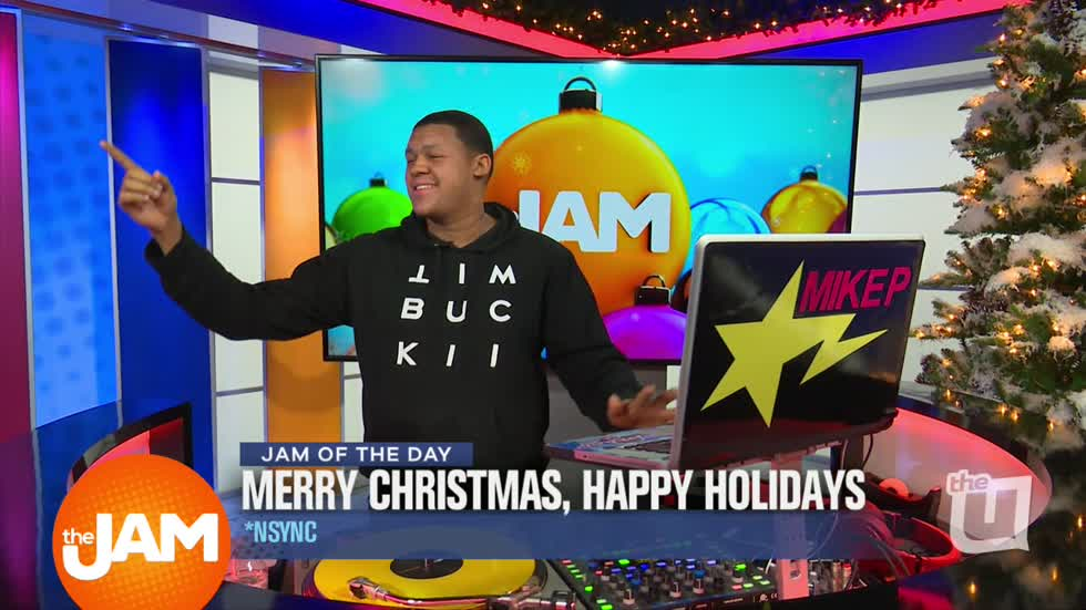 wciu the u jam of the day with dj mike p merry christmas happy holidays by nsync - Merry Christmas Happy Holidays Nsync