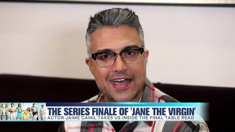 Jaime Camil Shares 'Jane the Virgin' Final Table Read Moments