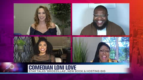 Loni Love Dishes On New Book & Quarantine Confessions