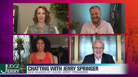 Jerry Springer Dishes On New Season of 'Judge Jerry'