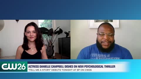 Actress Danielle Campbell Dishes On The CW's 'Tell Me A Story'