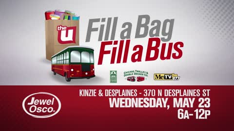 Fill a Bag, Fill a Bus with The U!